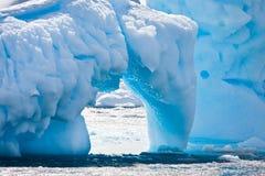 Antarctische gletsjer Stock Fotografie