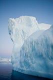 Antarctische ijsberg stock foto