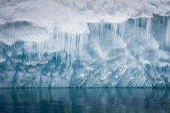 Antarctische ijsberg royalty-vrije stock fotografie