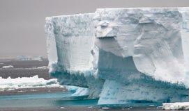 Antarctische Ijsbergen Royalty-vrije Stock Afbeeldingen
