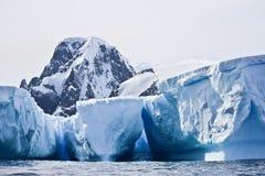 Antarctische Ijsbergen Stock Afbeelding