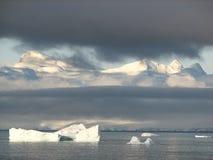 Antarctische Ijsbergen Stock Afbeeldingen