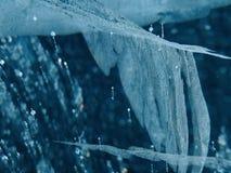 Antarctische ijswonder 2014 #8 tracery in ijs Royalty-vrije Stock Afbeeldingen