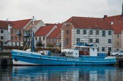 Antares一个老丹麦渔船 免版税库存照片