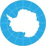 Die Antarktis Lizenzfreies Stockfoto