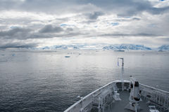 Antarktik-Reiseflug Lizenzfreies Stockbild