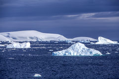 Antarktis havsis landscape-3 Royaltyfri Fotografi