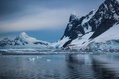 Antarktis i vinter Arkivfoton
