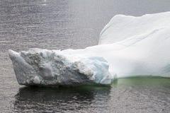 Antarktis - isberg - Closeup Royaltyfri Fotografi