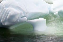 Antarktis - isberg - Closeup Royaltyfria Bilder