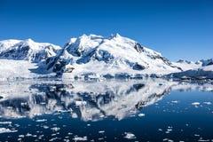 Antarktis Landscape-9 Arkivfoton