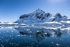Antarktis Landscape-10 Arkivbilder