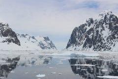 Antarktis - landskap Royaltyfri Fotografi