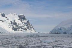 Antarktis - landskap Arkivfoton