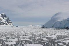 Antarktis - landskap Royaltyfri Foto