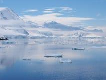 Antarktis Neumayer kanal Royaltyfri Bild