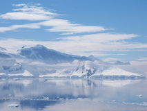 Antarktis Neumayer kanal Royaltyfri Foto
