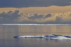 Antarktis trevlig sikt Fotografering för Bildbyråer