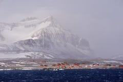 Antarktische Forschungs-Unterseite Stockfotografie