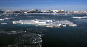 Antarktische Halbinsel - die Antarktis Stockbild