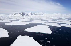 Antarktische Landschaft Lizenzfreie Stockbilder