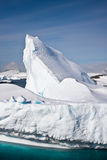 Antarktischer Gletscher Stockfotografie