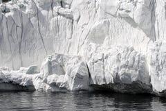 Antarktisches Eisregal Stockfoto