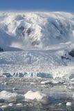 Antarktisfjärdwilhelmina royaltyfri bild