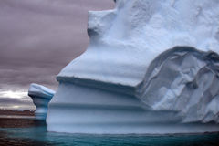 Antarktisglaciär Arkivbilder