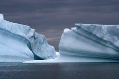 Antarktisglaciär Royaltyfri Fotografi