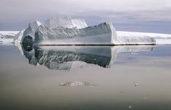 Antarktisisberg Arkivfoto