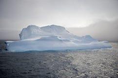 Antarktisisberg som är i tabellform Arkivbilder