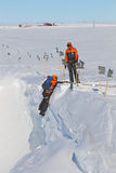 Antarktisk fältutbildning Royaltyfri Foto