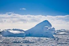 Antarktisk glaciär Arkivfoto