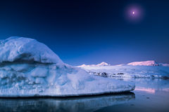 Antarktisk glaciär Royaltyfria Bilder