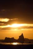 Antarktiskt isberg Arkivfoto