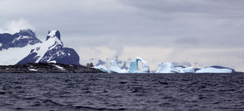 Antarktiskt landskap Royaltyfria Bilder
