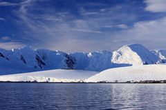 Antarktiskust Arkivfoton
