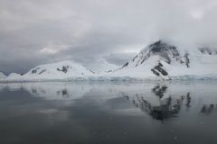 Antarktisliggande Royaltyfri Bild