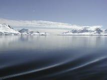 Antarktissegling Arkivbild