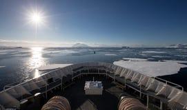 Antarktyczny krajobraz Zdjęcia Stock