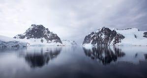 Antarktyczny krajobraz Zdjęcia Royalty Free