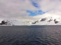 Antarktyczny krajobraz Obrazy Royalty Free