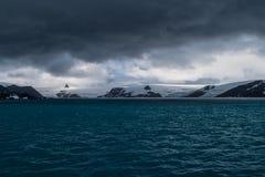 Antarktyczny Seascape Obraz Royalty Free