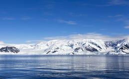 Antarktyczny wybrzeże zdjęcia stock