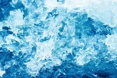 antarktyka kryształów lodu półka na zdjęcia Zdjęcia Royalty Free
