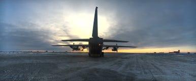 Antartica operation Marambio Royaltyfria Bilder