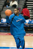 Antawn Jamison Warms Up Royalty Free Stock Image