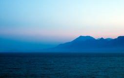 Antaylia. Anataylia skyline sunset view Stock Image