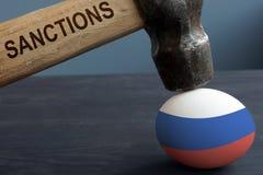 Ante rosjanin sankcje Hummer pod jajkiem zdjęcia royalty free